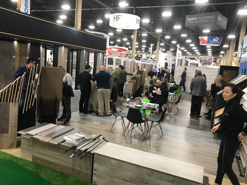SLCC Flooring at the 2018 Surfaces and NFA Show in Las Vegas
