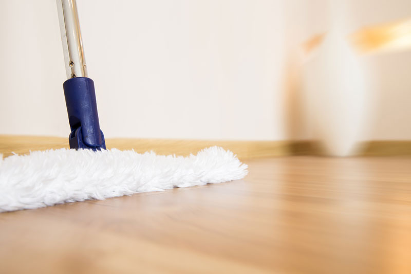 Cleaning and Care: Luxury WPC (Waterproof Flooring)